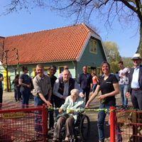 Opening konijnentuin